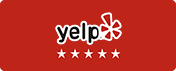 Yelp five-star logo