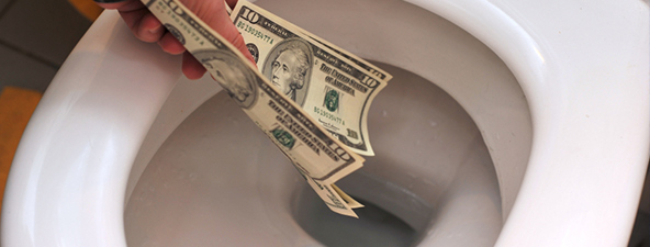Sewer Repairs Flushing Money Down the Toilet